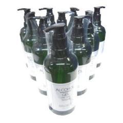 サラリト アルコール ジェル シックタイプ 500mL 10本セット
